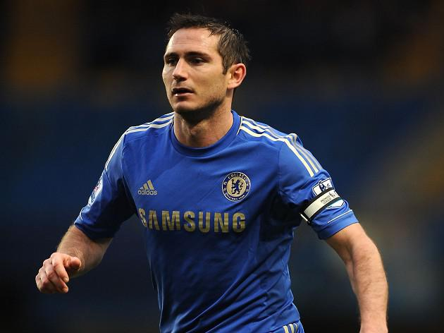 Frank Lampard happy to be playing regularly for Chelsea