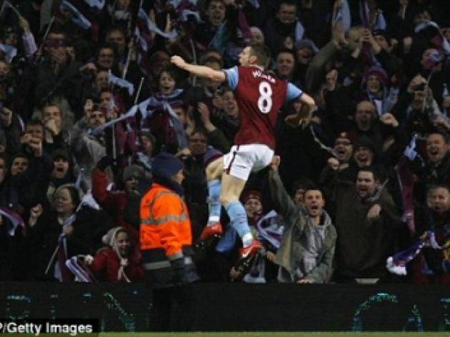 Ten-goal thriller has Aston Villa hero James Milner jumping for joy