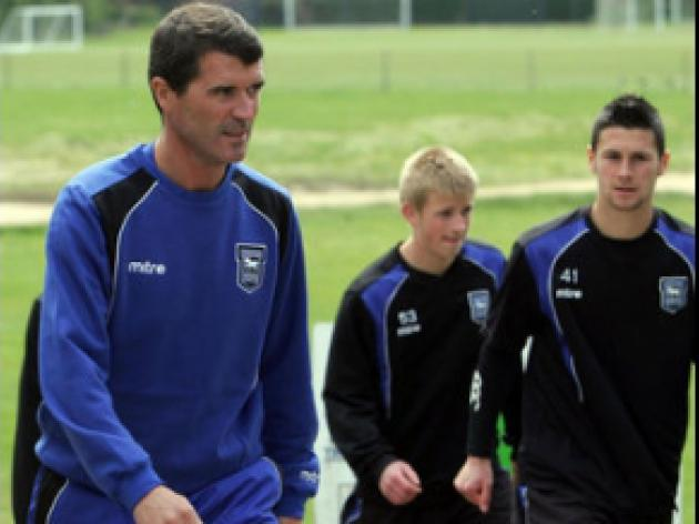 Keane chasing glory with Ipswich