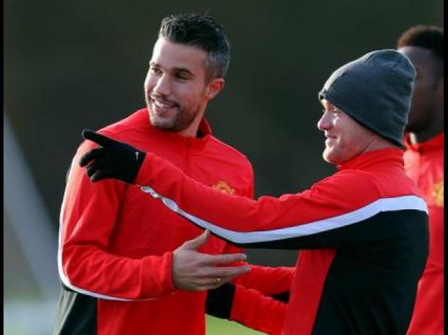 RVP enjoying Rooney partnership