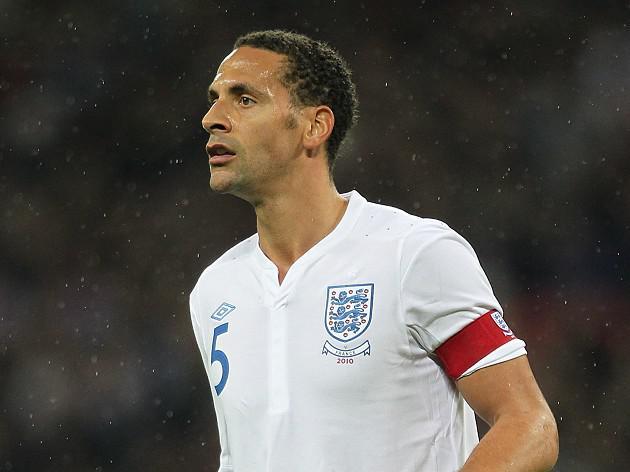 Rio Ferdinand announces England retirement