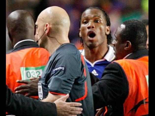UEFA chief Michel Platini: Chelsea and Drogba will benefit from Euro ban