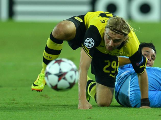 Dortmunds Schmelzer misses Marseille clash