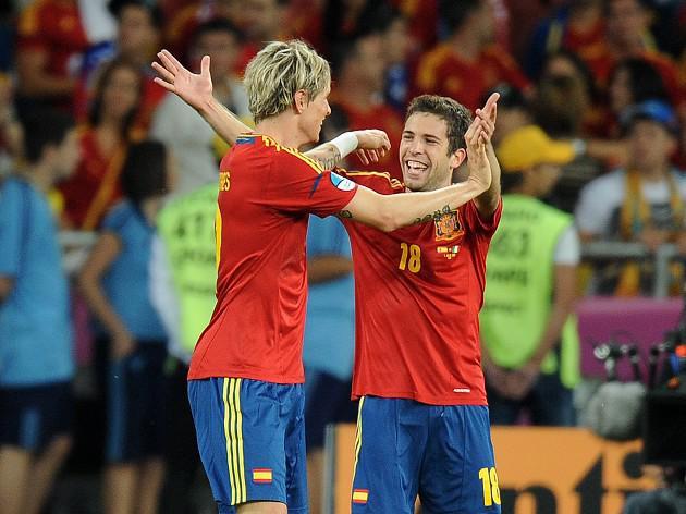 Alba savours Spain brace