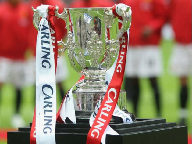 Carling Cup semi final draw is TONIGHT