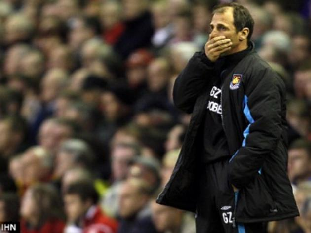 Gianfranco Zola needs an Italian Job - the West Ham boss is hot for the chop THE FIRING LINE