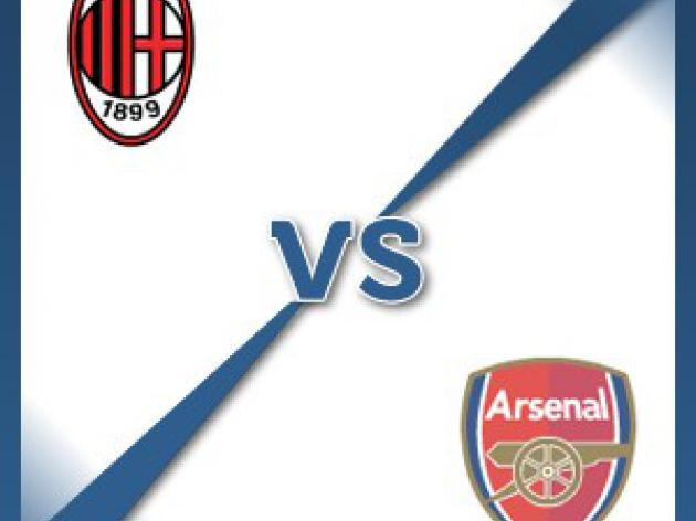 AC Milan V Arsenal - Follow LIVE text commentary