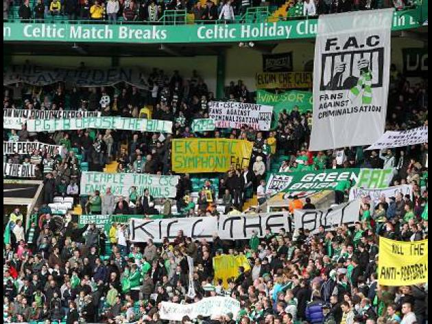Celtic fans reject police meeting