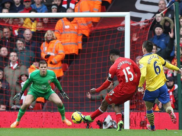 Rampant Reds crush Gunners