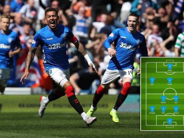 Rangers player ratings vs Celtic: Arfield brilliant ...