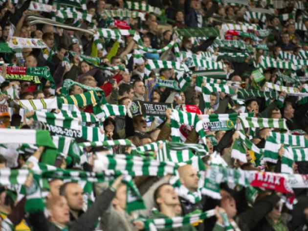 Celtic ban over 100 fans after crowd trouble