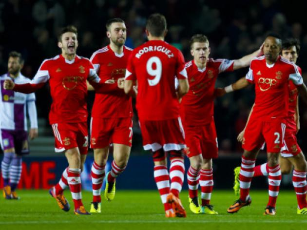 Southampton V Man City At St. Mary's Stadium : LIVE