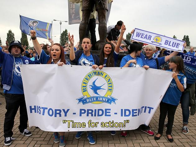 Cardiff fans plan protest march
