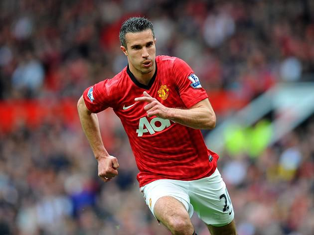 Robin van Persie back in contention for Manchester United