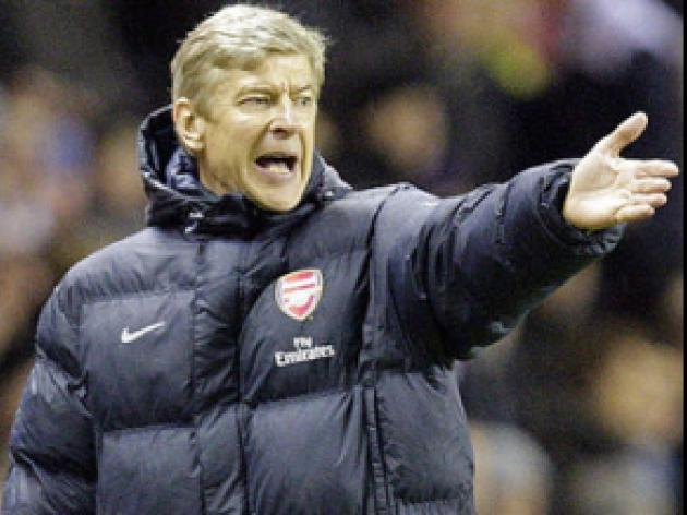 Wenger focused only on Brum battle