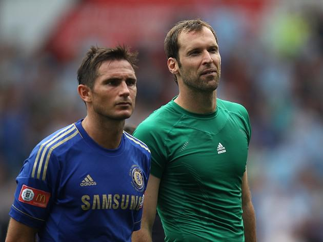 Cech hopeful over Lampard deal