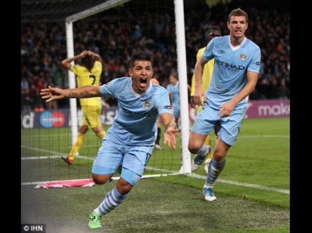 Sergio Aguero 'mocked' Villarreal players after Man City win
