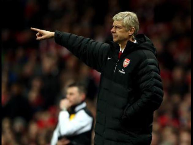 Wenger demands reaction from players