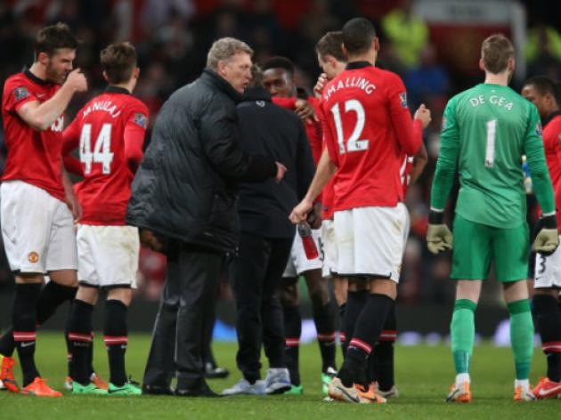 Moyes' tactics to blame for Manchester United Cup Exit