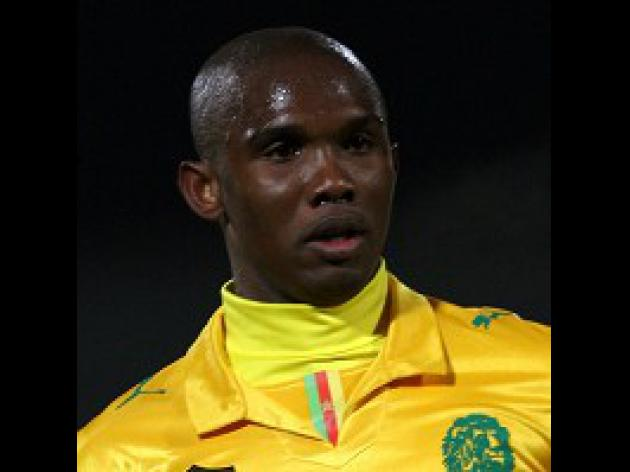 Eto'o in World Cup threat