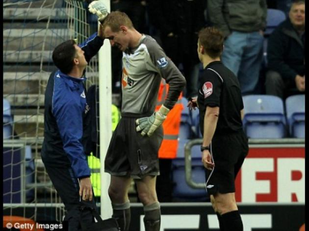Wigan 1 Burnley 0: Struck keeper Kirkland in fear of more missile yobs