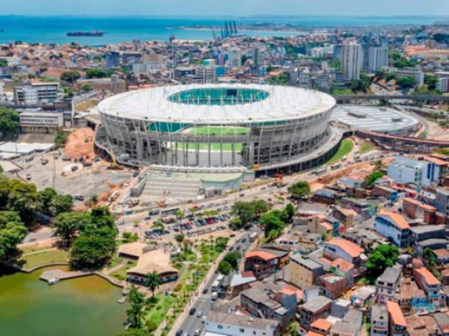 Brazil rains damage roof of Confederations Cup stadium