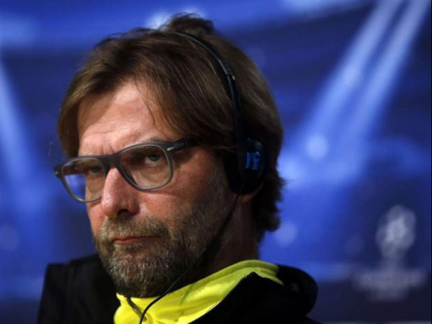 Klopp balks at suggestion Dortmund are out