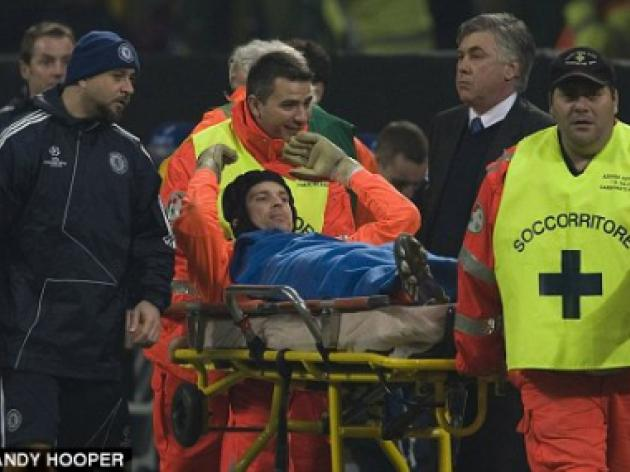 Special KO - Petr Cech injured as Jose takes control of Champions League tie