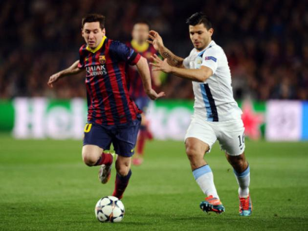 Barcelona edge 10-man City to march into quarters