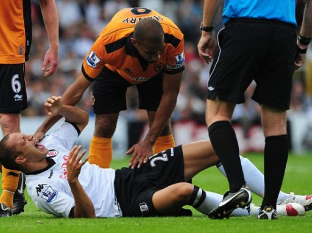 Fulham 2 Wolves 1: Bobby Zamora hit was not a bad tackle despite leg break, insists Karl Henry