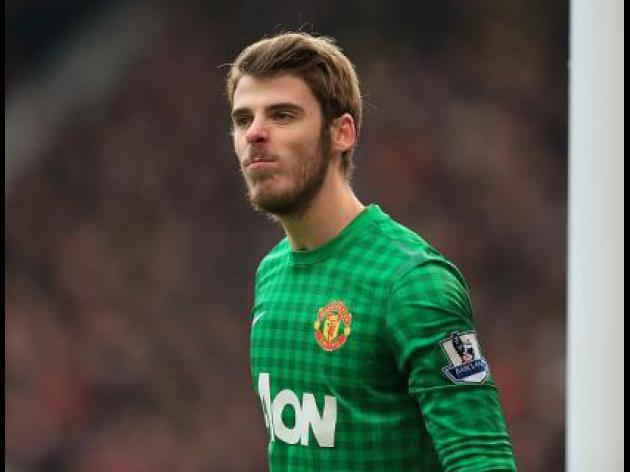 We're all behind De Gea - Rooney