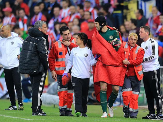 Cech's season ended by injury