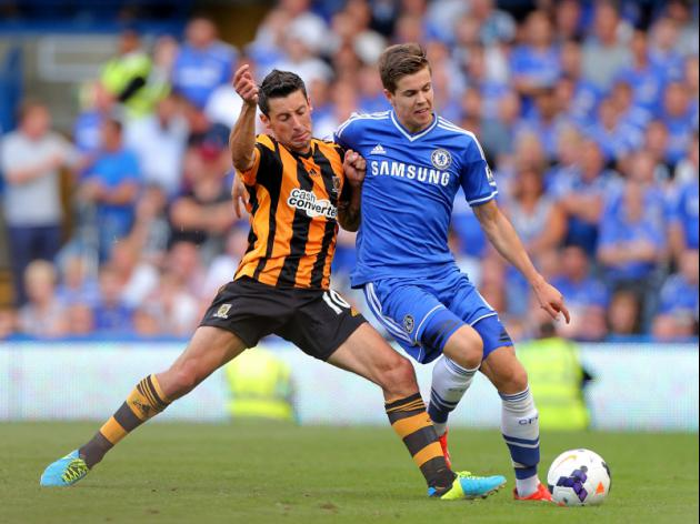 Chelsea midfielder Marco van Ginkel completes loan move to AC Milan
