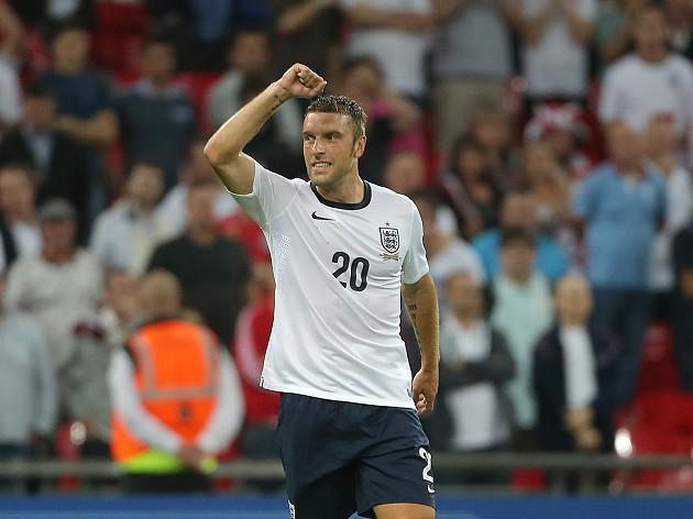 Lambert handed first England start
