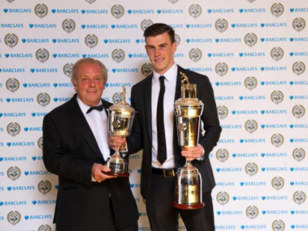 Gareth Bale pips Luis Suarez and Robin Van Persie to the PFA's main award