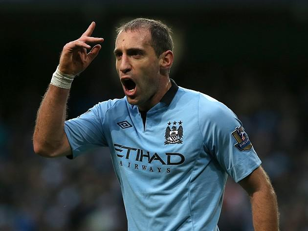 Man City defender Pablo Zabaleta says 'City need to keep fighting'
