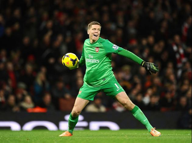 Szczesny spurred on by City draw