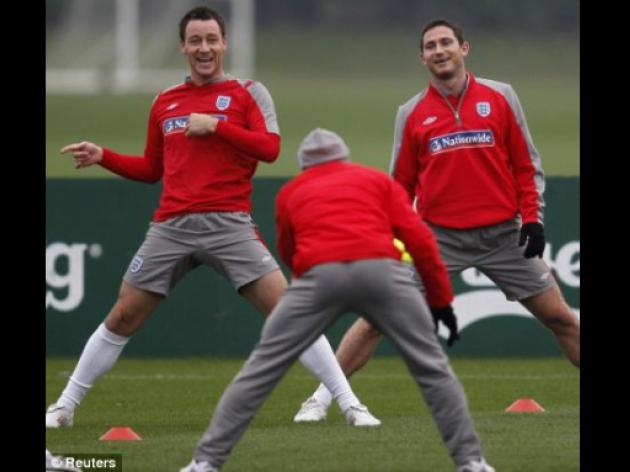 Lampard to miss England v Brazil: Chelsea star could be out until 2010