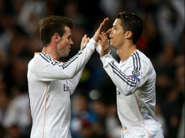 Ronaldo, Bale return to Madrid training