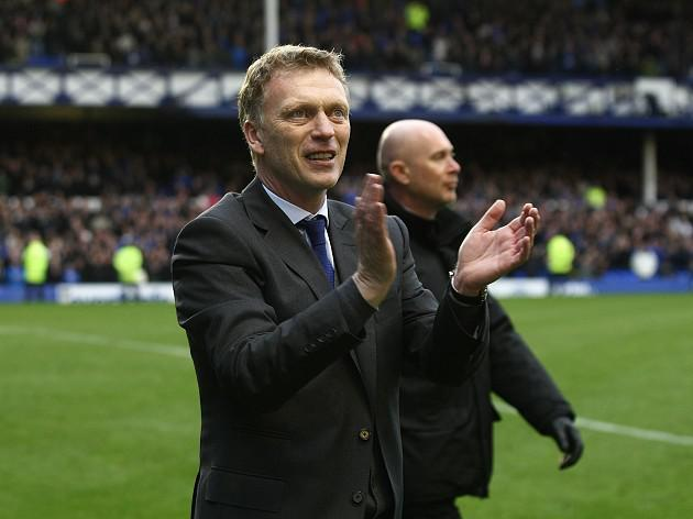 Moyes grateful for fans' reaction