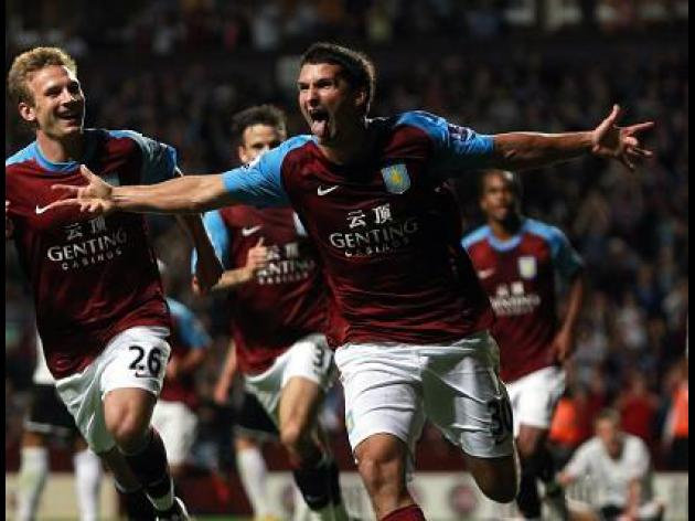 Aston Villa 2-0 Hereford: Match Report