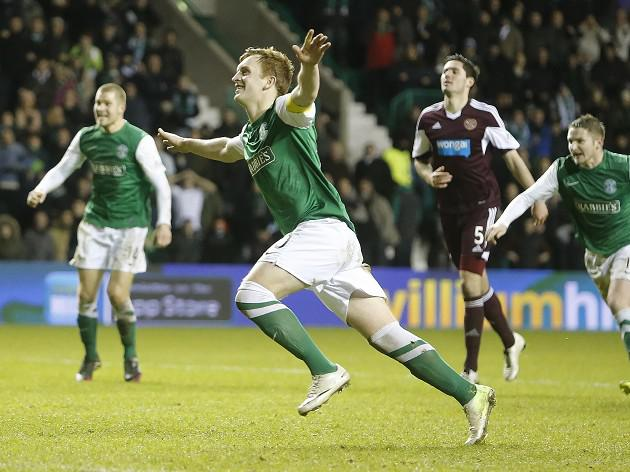Derby delight for Hibees