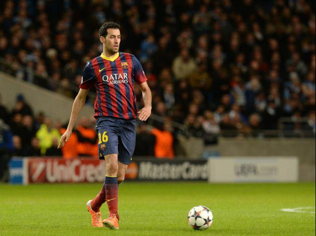 Barcelonas Busquets to miss Rayo clash