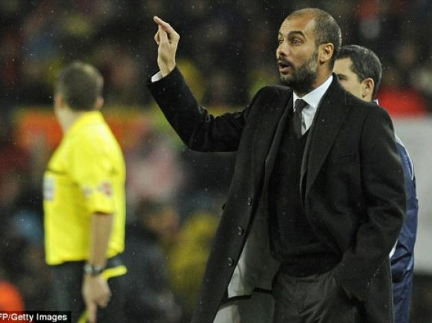 Pep Guardiola in Chelsea owner Roman Abramovich's sights