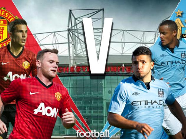 Manchester United v Manchester City: Team News, Squads and Match Facts