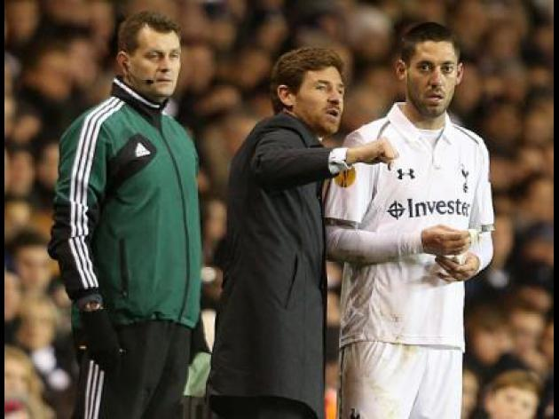 AVB: No new January signings for Spurs