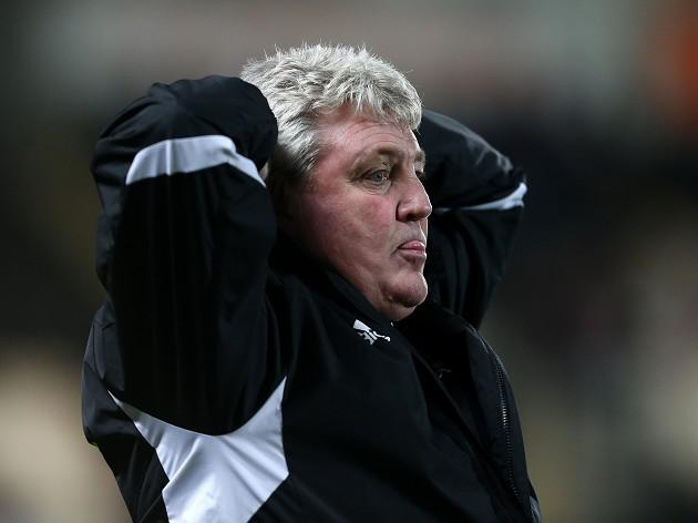 Hull City manager Steve Bruce says the nerves got to us