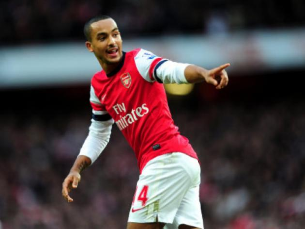 Arsenal's Theo Walcott set to miss Montpellier clash
