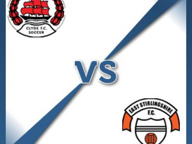 East Stirlingshire away at Clyde - Follow LIVE text commentary