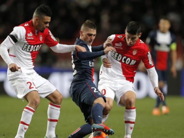 Rodriguez powers Monaco past Bastia